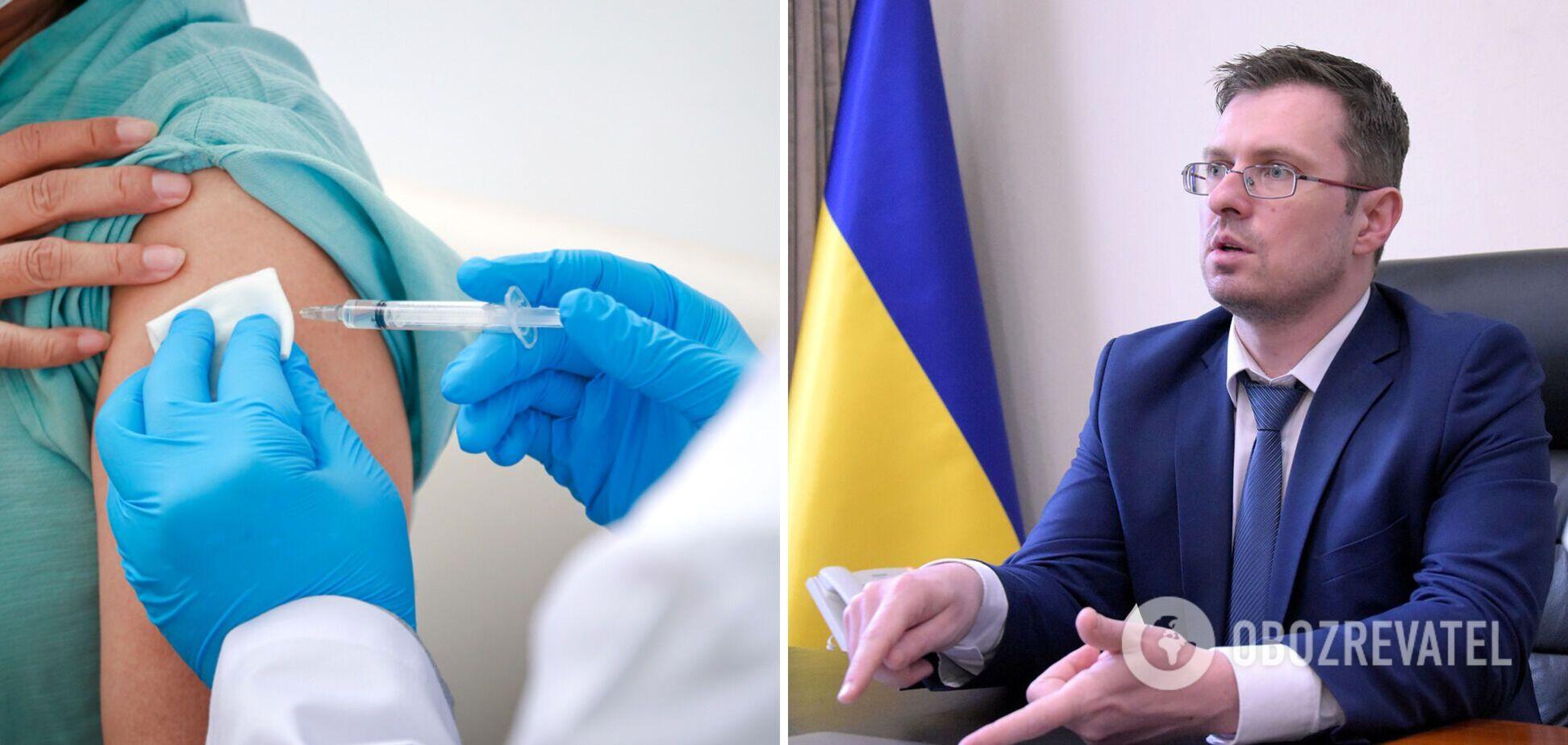 За минулий тиждень в Україні наростили темпи вакцинації